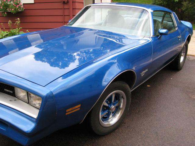 1978 Pontiac Firebird Esprit For Sale Photos Technical