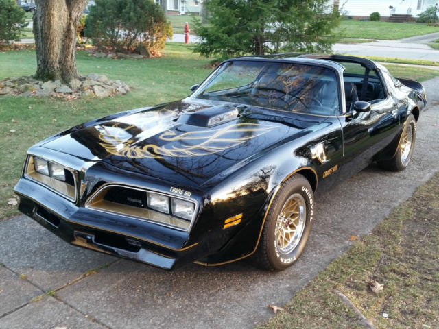 1978 Pontiac Trans Am BANDIT EDITION