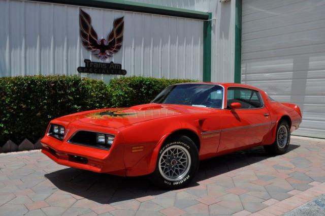 1978 Pontiac Trans Am W72 performance package