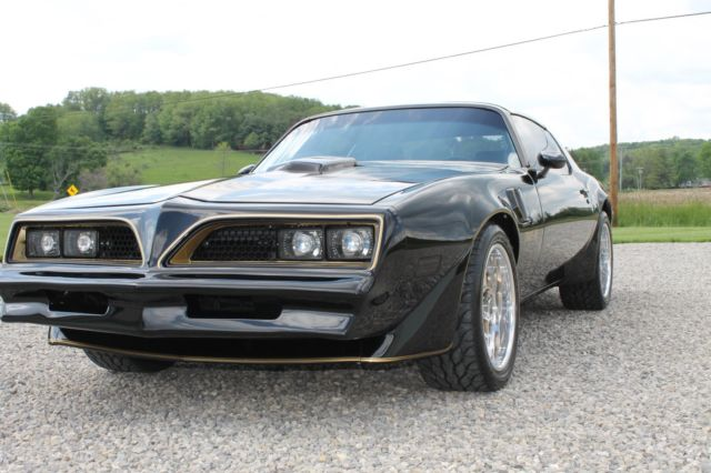 1978 pontiac trans am special edition y82 smokey and the bandit pro touring for sale photos. Black Bedroom Furniture Sets. Home Design Ideas
