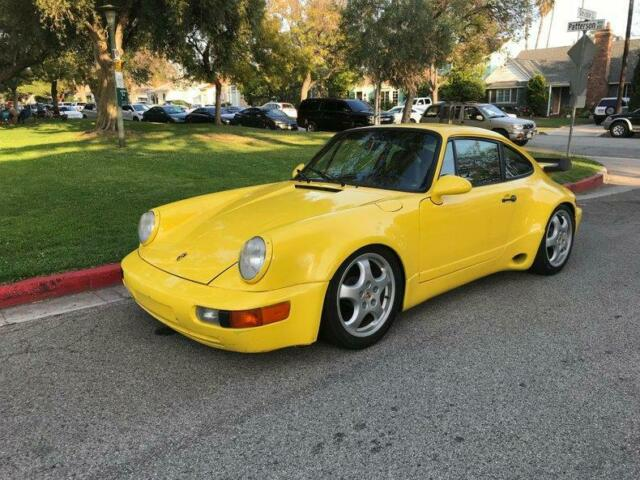 1978 Yellow Porsche 911 Wide Body / Clean Title/ Original Color Yellow COUPE with Black interior
