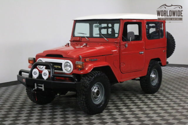 1978 Toyota Land Cruiser FRAME OFF RESTORATION