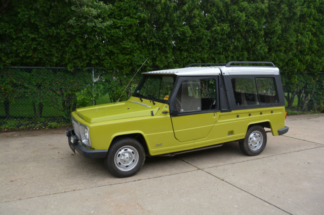 1978 Other Makes Renault Rodeo 6