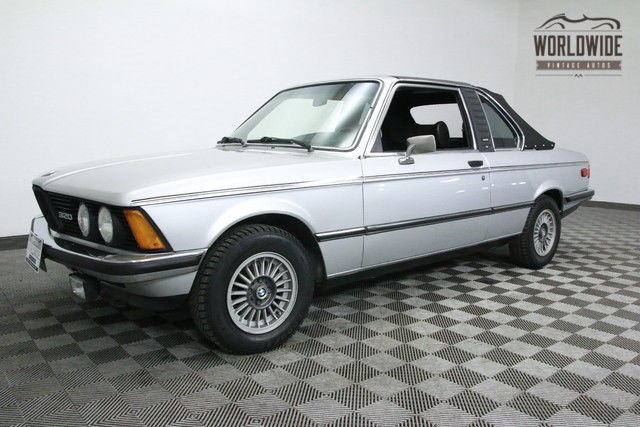 1978 BMW 3-Series EXTREMELY RARE EURO MODEL. TARGA CABRIOLET!