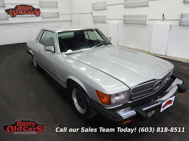 1978 Mercedes-Benz SL-Class Good Project Car 4.5LV8 Body Int Good