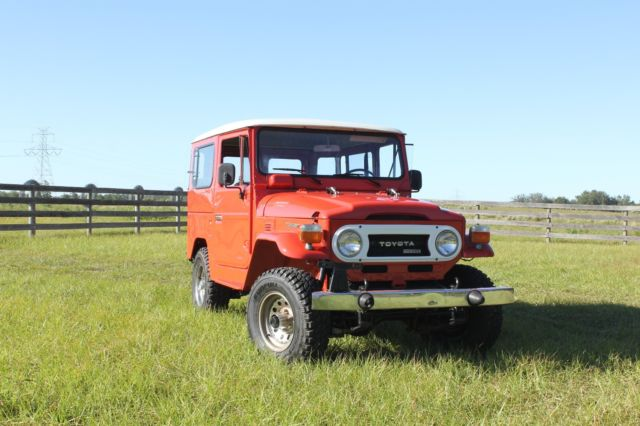 1978 Toyota Land Cruiser Chrome edition