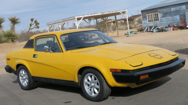 1978 Triumph TR7 CALIFORNIA CAR 4 CYL. 5 SPEED HARD TOP, RARE!!