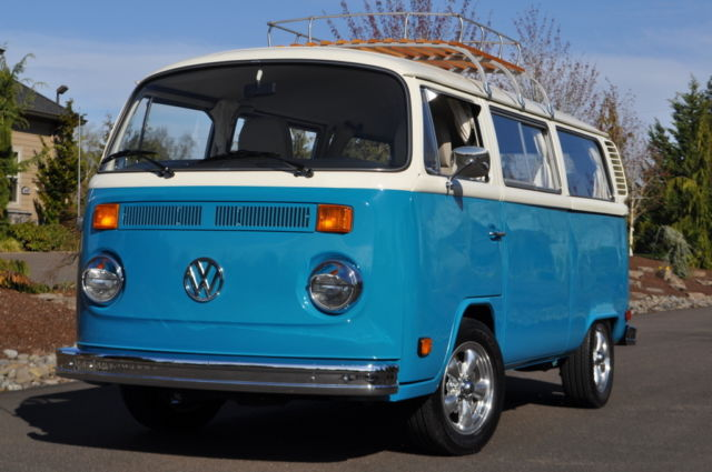 volkswagen bus kombi  miles  survivor transporter vw wagon   sale