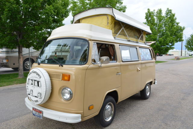 1978 Volkswagen Bus/Vanagon CAMPMOBILE