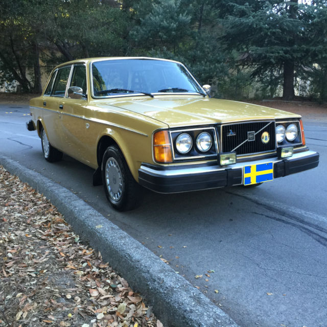 Volvo Auto Sales: 1978 Volvo 240 DL For Sale: Photos, Technical