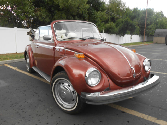 1978 VW Beetle Convertible Celebrity Owned for sale: photos, technical specifications, description