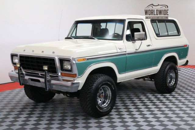 1978 Ford Bronco RANGER XLT RESTORED COLLECTOR GRADE