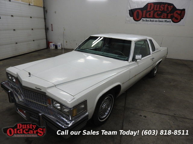 1978 Cadillac DeVille Runs Drives Body Int Good 425 Big Block Auto