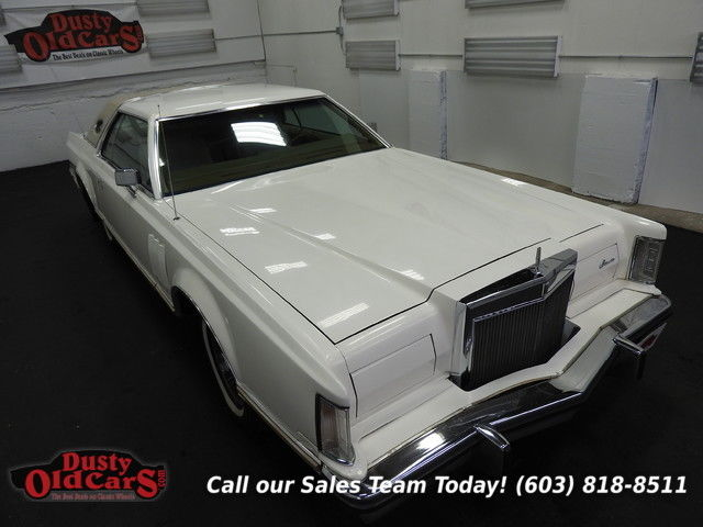 1978 Lincoln Continental Runs Drives Body Int Vgood 460V8 3 spd auto