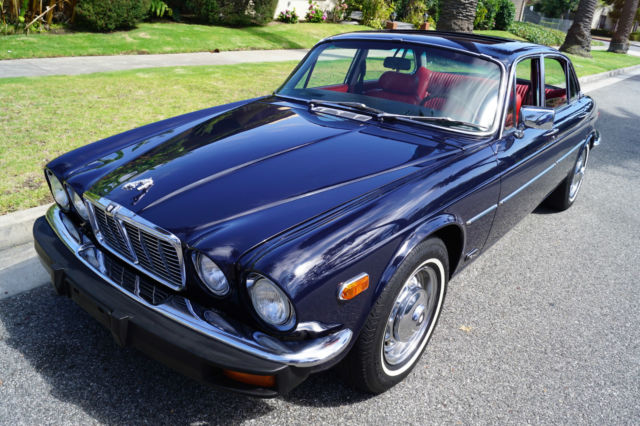 1978 Jaguar XJ6 L 4.2L 6 CYL FUEL INJECTION WITH SUNROOF!