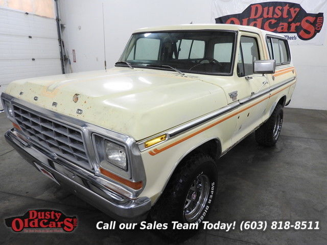 1978 Ford Bronco Runs Drives Body Inter Reno Car 5.8LV8