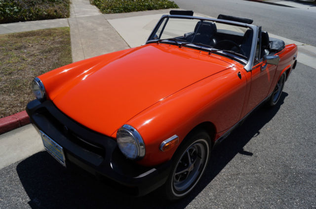 1979 MG Midget MIDGET WITH BELIEVED TO BE 20K ORIGINAL MILES!