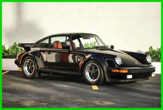1979 Porsche 930 1979 U.S. SPEC 930 BLACK OVER RED FLORIDA CAR!