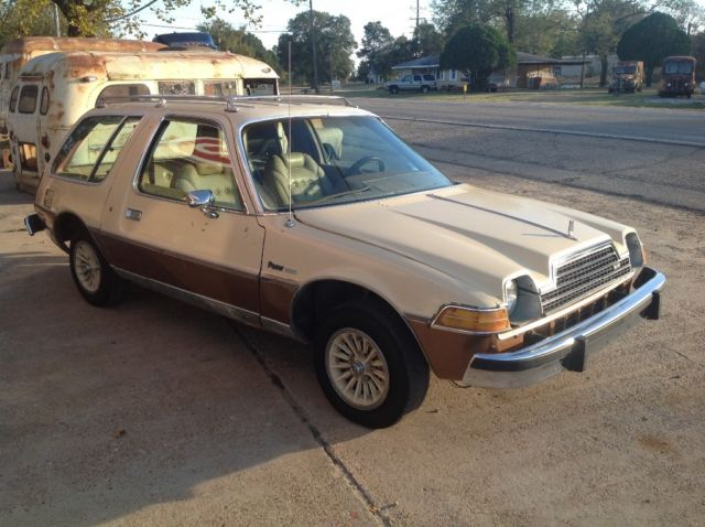 1979 AMC Pacer Pacer wagon limited factory v8