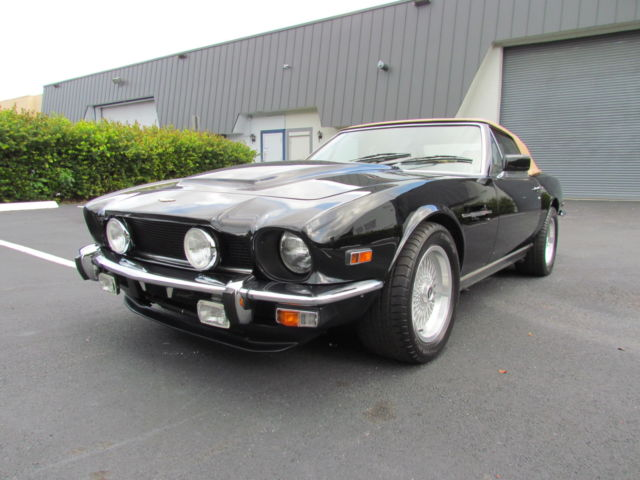 1979 Aston Martin V8 Volante Low Milage, Converted to POW SPECS