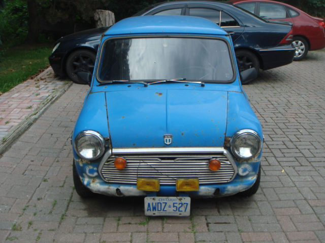 1979 Austin 2 door classic mini 1000cc RARE
