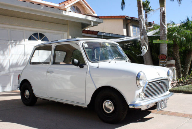 1979 Austin Mini Cooper S , Right Hand drive, Resto Mod, NZ Classic
