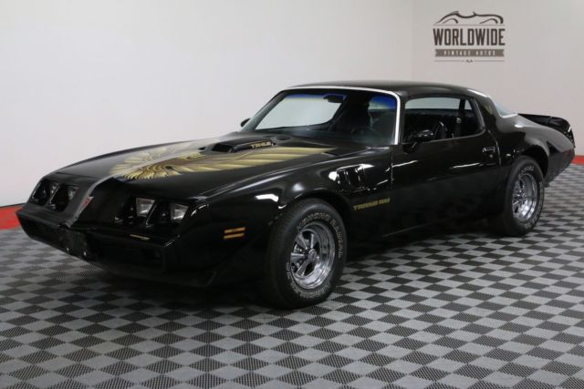 1979 Pontiac Trans Am FIREBIRD 6.6L V8 AUTO DUAL EXHAUST PS PB