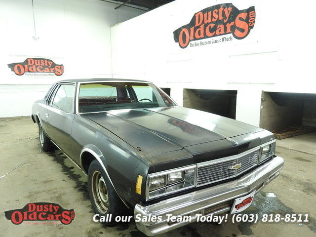 1979 Chevrolet Impala Runs Drives Body Int Good 305V8 3spd