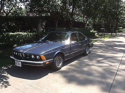 1979 BMW 6-Series Coupe