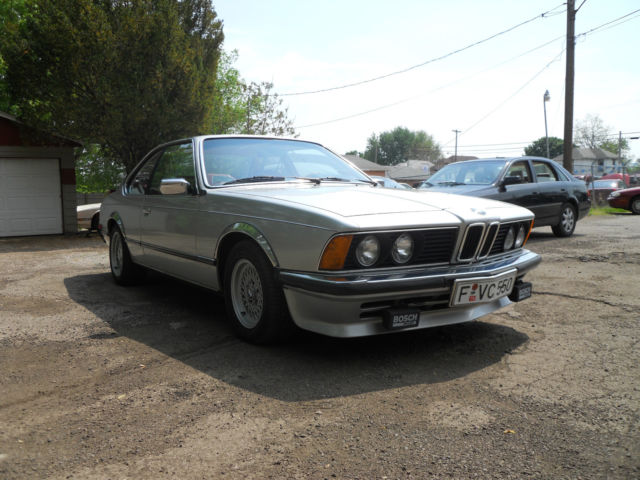 1979 BMW 6-Series 635 EURO CSI ONCE IN A LIFETIME CAR