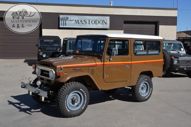 1979 Toyota Land Cruiser 4X4 FJ LAND CRUISER FJ45