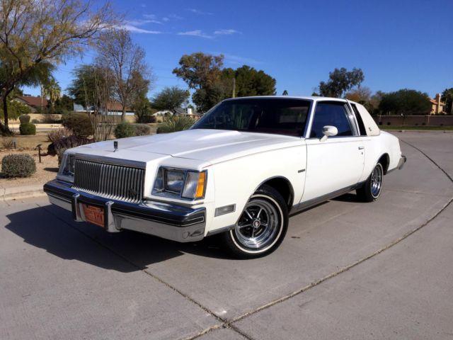 1979 buick regal sport coupe 3 8 turbo survivor 19k mile. Black Bedroom Furniture Sets. Home Design Ideas