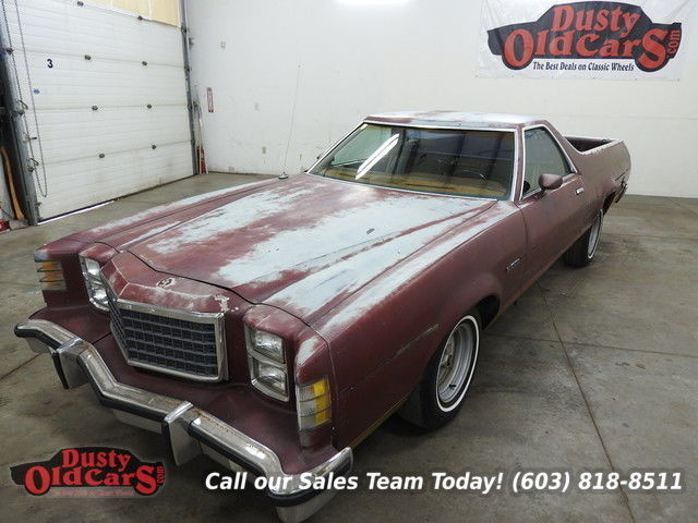 1979 Ford Ranchero Runs Drives Nicely 302V8 Body Interior VGood