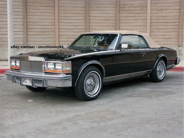 1979 Cadillac Seville San Remo Convertible Royalty Owned 16k Mi
