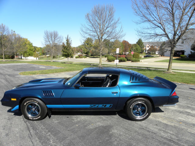 1979 Camaro Z28 350 4 Speed And In Mint Condition For
