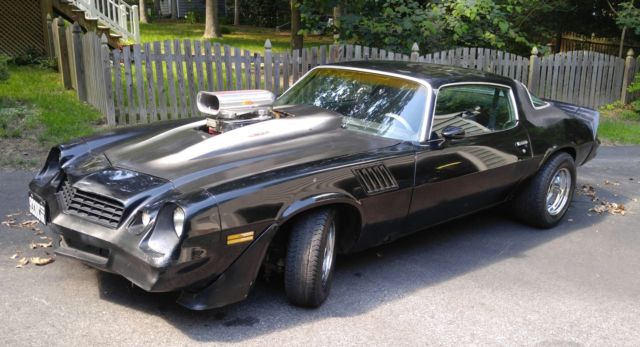 1979 Camaro Z28, Factory 4 Speed PosiTrac, Built Motor ...