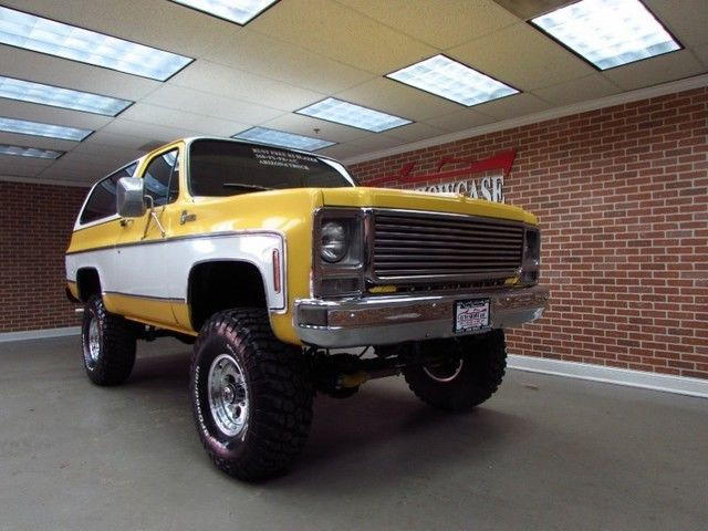 1979 Chevrolet Blazer CUSTOME DELUXE