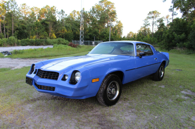 1979 Chevrolet Camaro Coupe 350 (Video Inside) 77+ Pics FREE SHIPPING