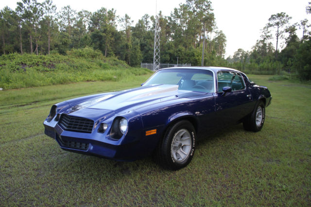 1979 Chevrolet Camaro Resto Mod 450 HP Berlinetta 362 Must See Don't Miss it