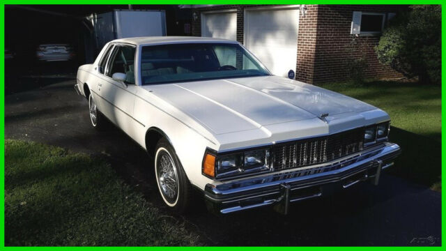 1979 Chevrolet Caprice Classic Landau Coupe All Original One Owner