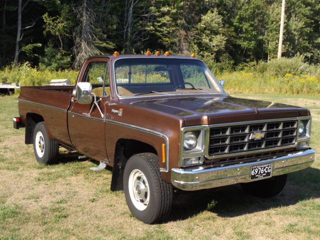1979 Chevrolet Other Pickups CK-20 CHEYENNE CAMPER SPECIAL