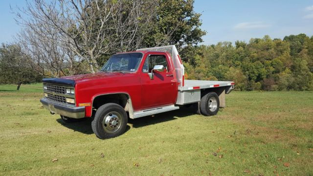 1979 Chevrolet C/K Pickup 3500 Red