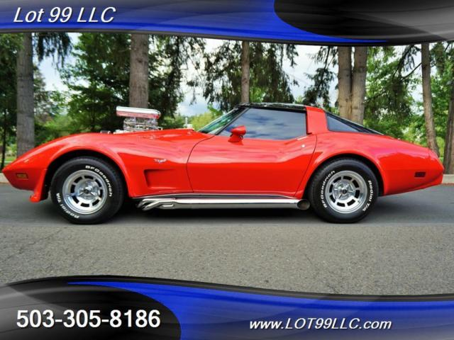 1979 Chevrolet Corvette Blown 6-71 Supercharger T-Tops Nitrous Side Pipes