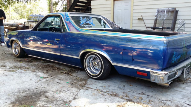 1979 Chevrolet El Camino custom lowrider show car for sale ...