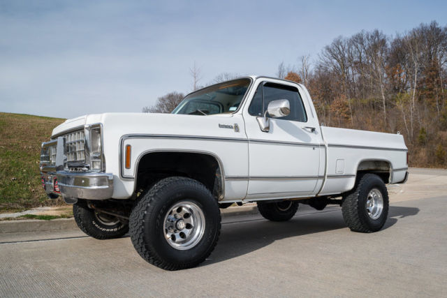 1979 chevrolet k10 4 wheel drive pickup very original short box for sale photos technical. Black Bedroom Furniture Sets. Home Design Ideas
