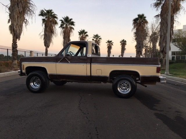 1979 Chevrolet Other Pickups 1979 Chevy K10 4X4 Short Bed Truck