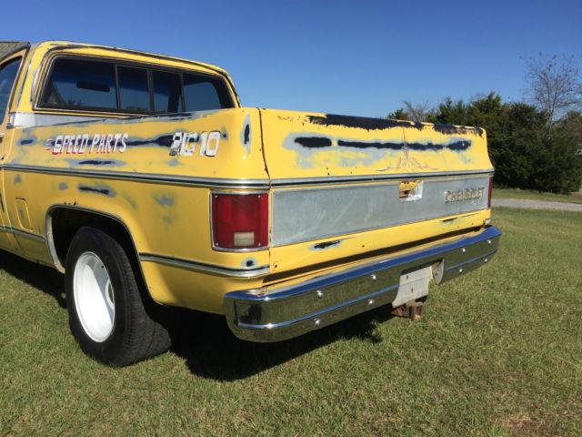 Chevrolet Silverado C10 ~ Original 454 Truck! ~ Big 10 Chevy with 454