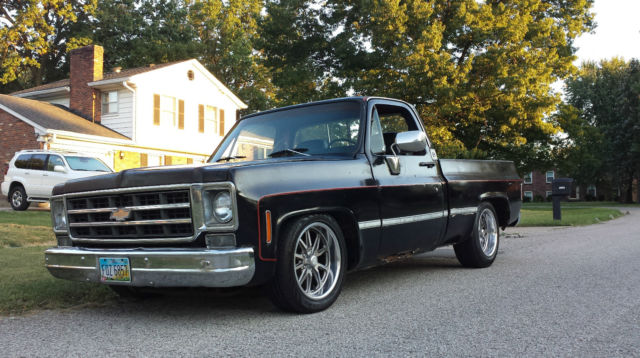 1979 chevy c 10 short bed chevrolet 73 87 chevy truck for sale photos technical specifications. Black Bedroom Furniture Sets. Home Design Ideas