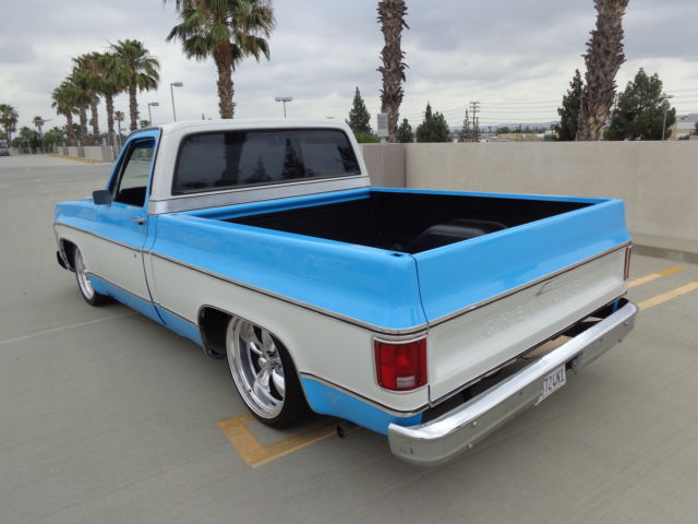 1979 chevy c10 shortbed fleetside pickup CA truck no rust! for sale: photos, technical ...