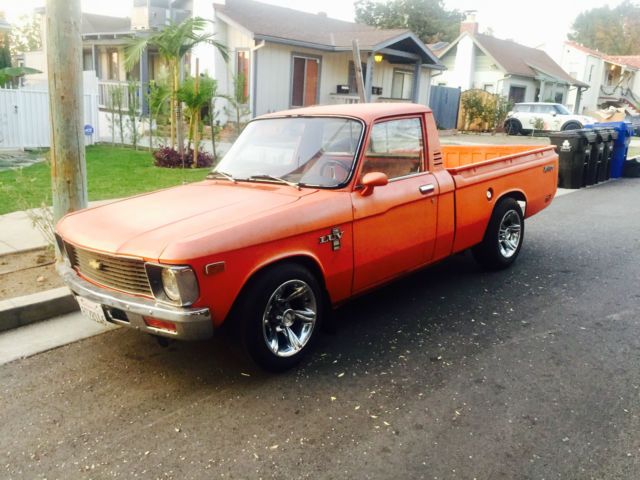 1979 Chevy Luv Mikado Pickup Truck Rare Runslooks Great For